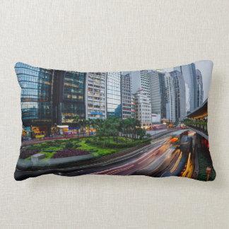 Travesseiro decorativo do tráfego de Hong Kong Almofada Lombar
