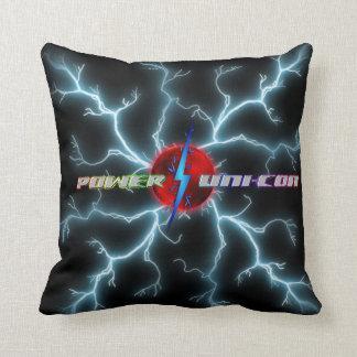 Travesseiro decorativo do Uni-Engodo do poder Almofada