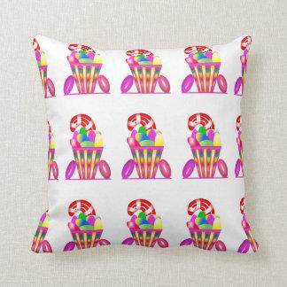 Travesseiro decorativo dos doces das crianças almofada