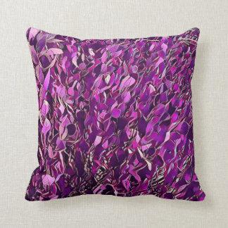 Travesseiro decorativo estilizado cor-de-rosa almofada