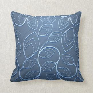 Travesseiro decorativo floral gráfico feito sob almofada