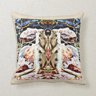 Travesseiro decorativo gêmeo do algodão de almofada