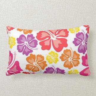 Travesseiro decorativo havaiano multicolorido da almofada lombar