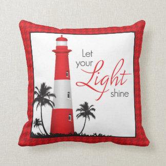 Travesseiro decorativo inspirado do farol almofada