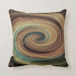 Travesseiro decorativo marrom bege da cerceta do almofada