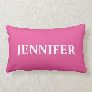 Travesseiro decorativo Monogrammed Almofada Lombar