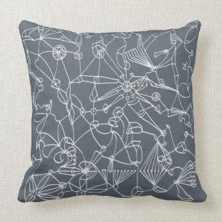 """Travesseiro decorativo original 20"""" de F.R.E Q U E Almofada"""