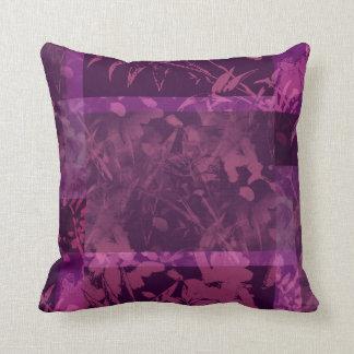Travesseiro decorativo roxo de MoJo do americano d