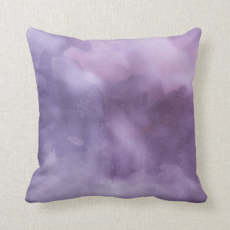 Travesseiro decorativo - roxos da aguarela almofada