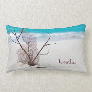 Travesseiro decorativo temático da praia almofada lombar