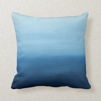 Travesseiro do abstrato do zen do ar do oceano almofada