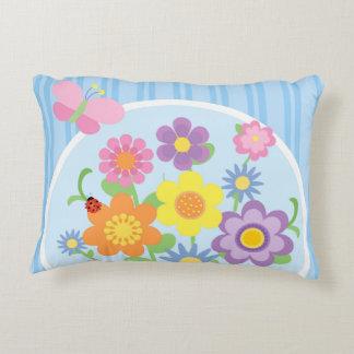 Travesseiro do acento da flor almofada decorativa