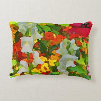 Travesseiro do acento das cores do jardim almofada decorativa