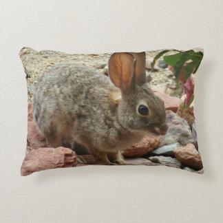 Travesseiro do acento do coelho do bebê almofada decorativa