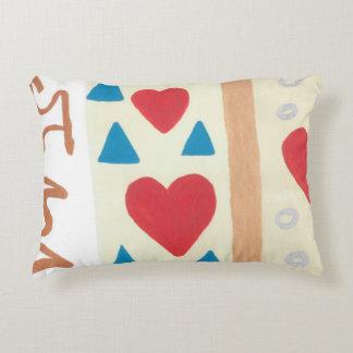 Travesseiro do acento do trajeto do amor almofada decorativa