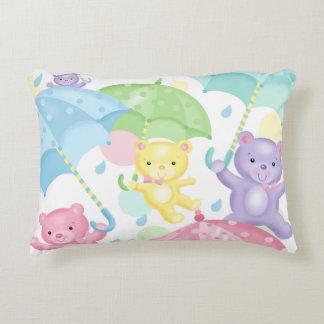 Travesseiro do acento dos ursos e dos almofada decorativa