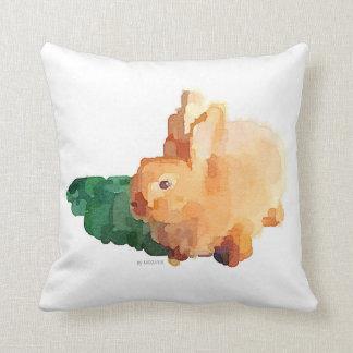 Travesseiro do bebê do coelho de coelho almofada