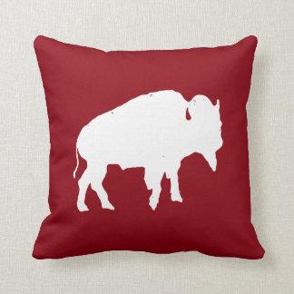 Travesseiro do búfalo almofada