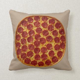 Travesseiro do design da pizza do divertimento almofada