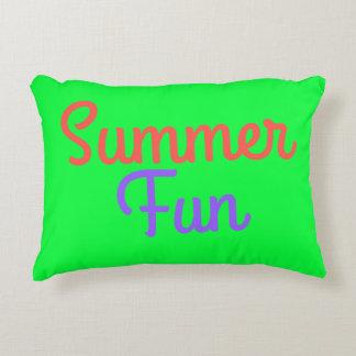 Travesseiro do divertimento do verão almofada decorativa