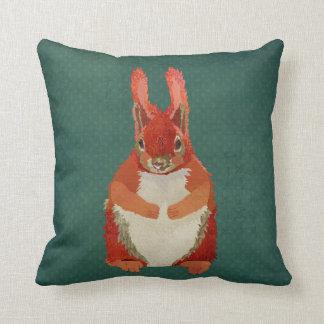 Travesseiro do esquilo vermelho