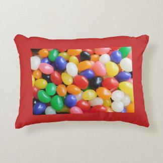 Travesseiro do feijão de geléia - sonhos doces! almofada decorativa