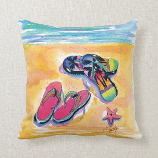 Travesseiro do flip-flop