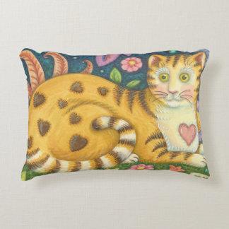 Travesseiro do gato da arte popular do gato almofada decorativa