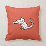 Travesseiro do rato de Origami