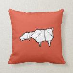 Travesseiro dos carneiros de Origami