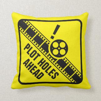 Travesseiro dos furos do lote almofada