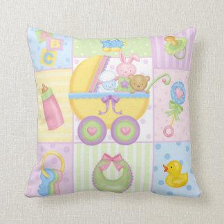 Travesseiro dos ícones do bebê almofada