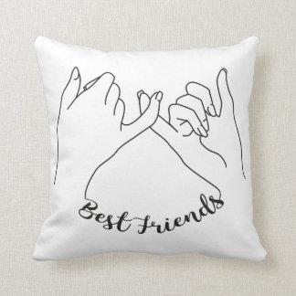 Travesseiro dos melhores amigos almofada