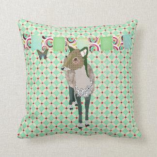 Travesseiro enfadado de Mojo dos cervos