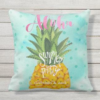 Travesseiro exterior do abacaxi | do partido de almofada