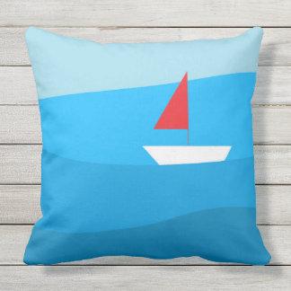 """Travesseiro exterior do """"veleiro"""" almofada"""