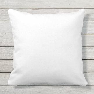 Travesseiro exterior feito sob encomenda almofada para ambientes externos