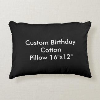 """Travesseiro feito sob encomenda 16"""" do algodão do almofada decorativa"""