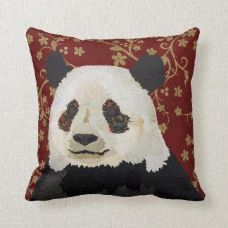 Travesseiro floral da panda