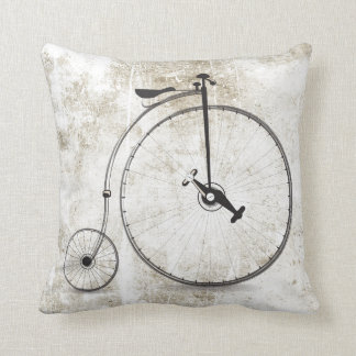 Travesseiro legal do estilo do vintage da roda