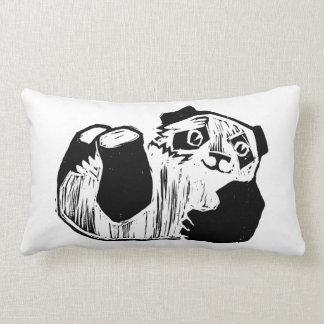 """Travesseiro lombar 13"""" do jogo da panda X 21 """" Almofada Lombar"""