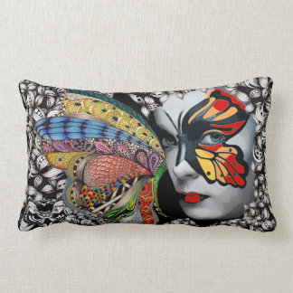 Travesseiro lombar da borboleta almofada lombar