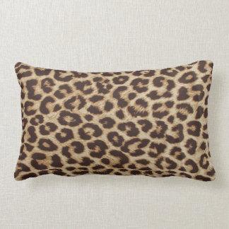 Travesseiro lombar do impressão do leopardo almofada lombar