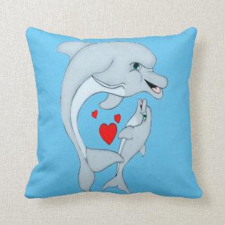Travesseiro maternal do quadrado do amor do