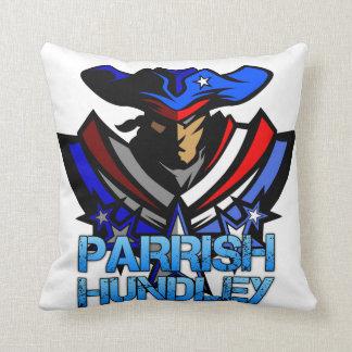 Travesseiro patriótico da banda de Parrish-Hundley