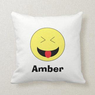Travesseiro personalizado de Emoji Almofada