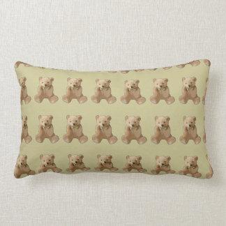 Travesseiro personalizado do urso de ursinho almofada lombar