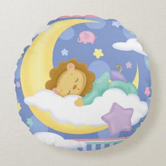 Travesseiro redondo do bebê dos sonhos doces almofada redonda