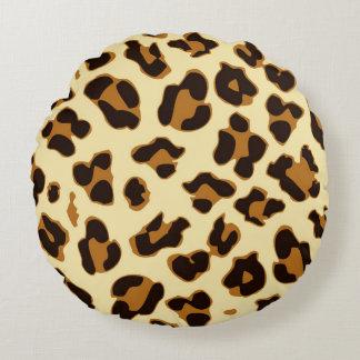 Travesseiro redondo do impressão da pele do almofada redonda