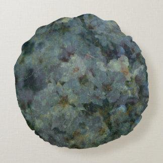 Travesseiro redondo do pomar azul macio almofada redonda